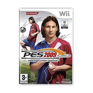Jogo Pro Evolution Soccer 2009 - Wii (Europeu)