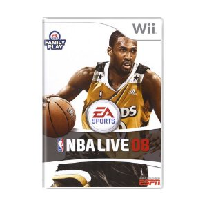 Jogo NBA LIVE 08 - Wii