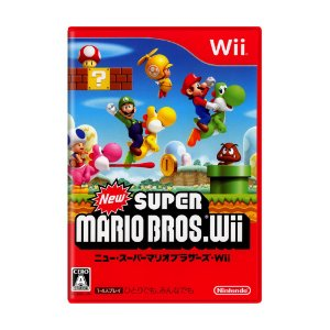 Jogo New Super Mario Bros - Wii (Japonês)
