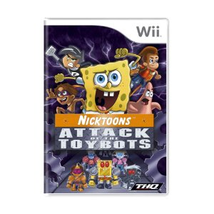 Jogo Nicktoons: Attack of the Toybots - Wii