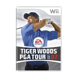 Jogo Tiger Woods PGA Tour 07 - Wii