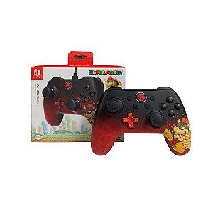 Controle para Nintendo Switch com fio (Bowser Edition) - PowerA