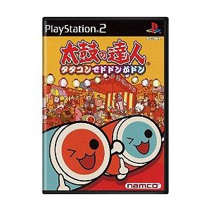 Jogo Taiko no Tatsujin: TataCon de Dodon ga Don - PS2 (Japonês)