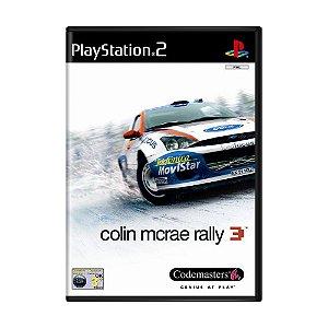 Jogo Colin Mcrae Rally 3 - PS2 (Europeu)