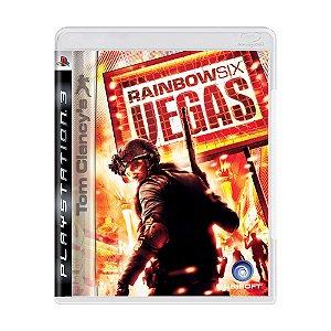 Jogo Tom Clancy's Rainbow Six Vegas - PS3