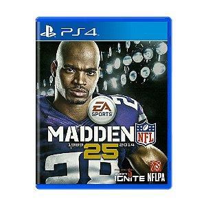 Jogo Madden NFL 25 - PS4