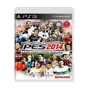 Jogo Pro Evolution Soccer 2014 (PES 14) - PS3