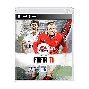 Jogo FIFA 11 - PS3