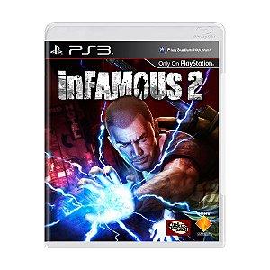 Jogo inFAMOUS 2 - PS3 [Inglês]