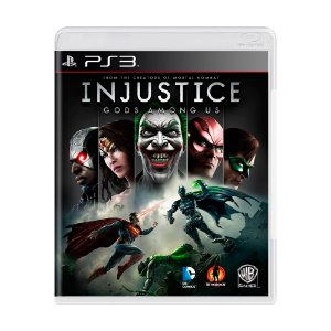 Jogo Injustice: Gods Among Us - PS3