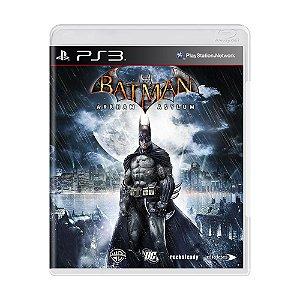 Jogo Batman: Arkham Asylum - PS3