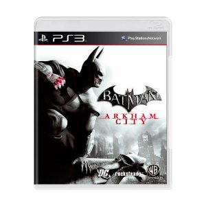 Jogo Batman: Arkham City - PS3
