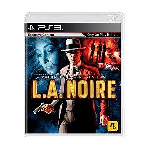 Jogo L.A. Noire - PS3