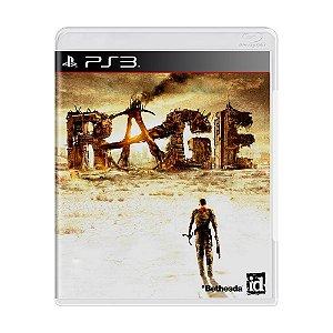 Jogo RAGE - PS3