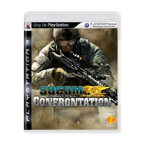 Jogo SOCOM U.S. Navy Seals: Confrontation - PS3