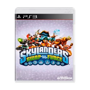 Jogo Skylanders Swap Force - PS3