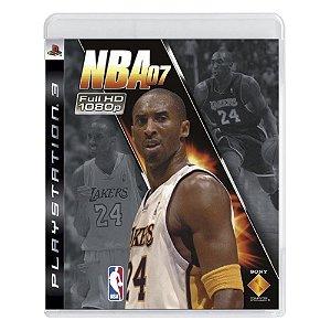 Jogo NBA 07 - PS3
