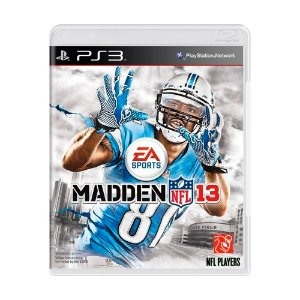 Jogo Madden NFL 13 - PS3