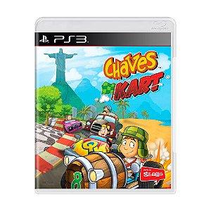 Jogo Chaves Kart - PS3
