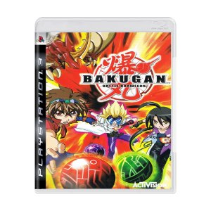 Jogo Bakugan Battle Brawlers - PS3