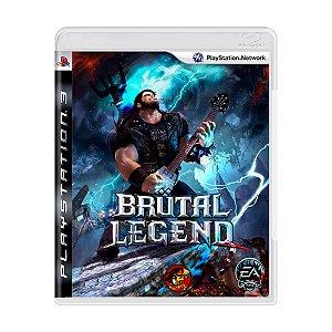 Jogo Brutal Legend - PS3