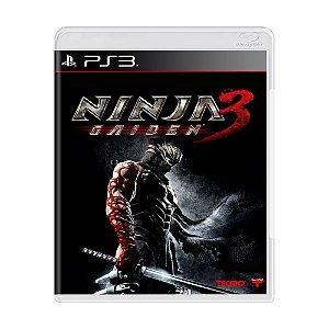 Jogo Ninja Gaiden 3 - PS3