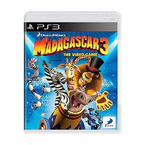 Jogo Madagascar 3 - PS3