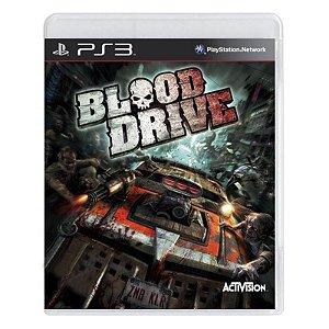 Jogo Blood Drive - PS3