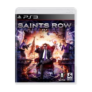 Jogo Saints Row IV - PS3