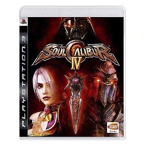 Jogo SoulCalibur IV - PS3