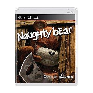 Jogo Naughty Bear - PS3