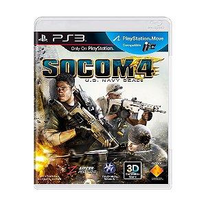 Jogo SOCOM 4: U.S. Navy Seals - PS3