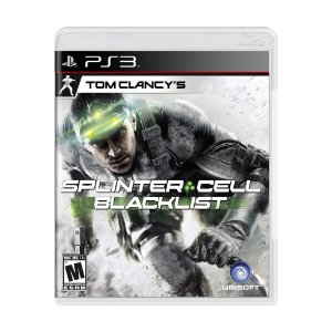Jogo Tom Clancy's Splinter Cell: Blacklist - PS3