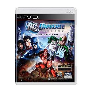 Jogo DC Universe Online - PS3