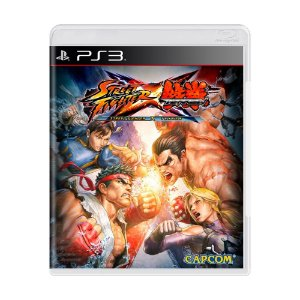 Jogo Street Fighter X Tekken - PS3
