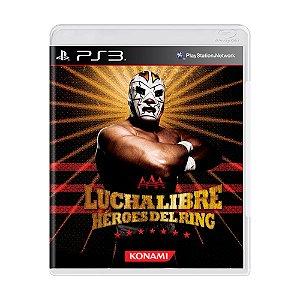 Jogo Lucha Libre AAA: Héroes Del Ring - PS3