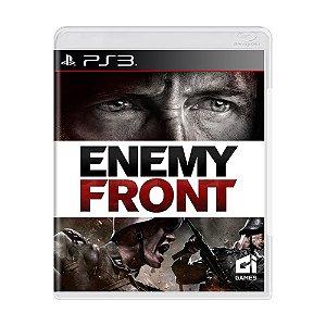 Jogo Enemy Front - PS3