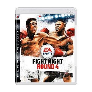 Jogo Fight Night Round 4 - PS3
