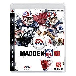 Jogo Madden NFL 10 - PS3