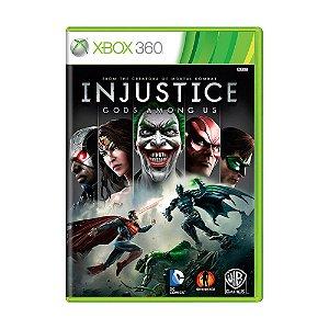Jogo Injustice: Gods Among Us - Xbox 360