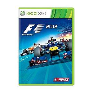 Jogo Formula 1 2012 - Xbox 360