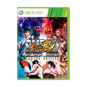 Jogo Super Street Fighter IV: Arcade Edition - Xbox 360