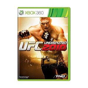 Jogo UFC Undisputed 2010 - Xbox 360