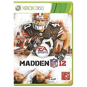 Jogo Madden NFL 12 - Xbox 360