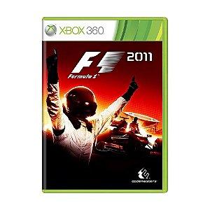 Jogo Formula 1 2011 - Xbox 360