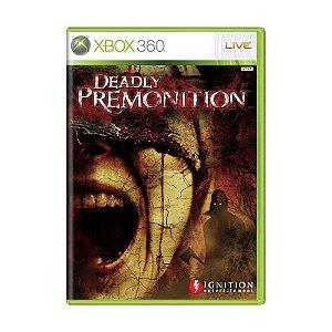 Jogo Deadly Premonition - Xbox 360
