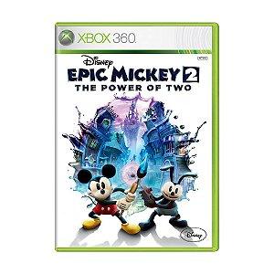 Jogo Disney Epic Mickey 2: The Power of Two - Xbox 360