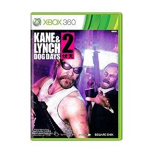 Jogo Kane & Lynch 2: Dog days - Xbox 360