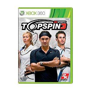 Jogo Top Spin 3 - Xbox 360
