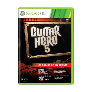 Jogo Guitar Hero 5 - Xbox 360